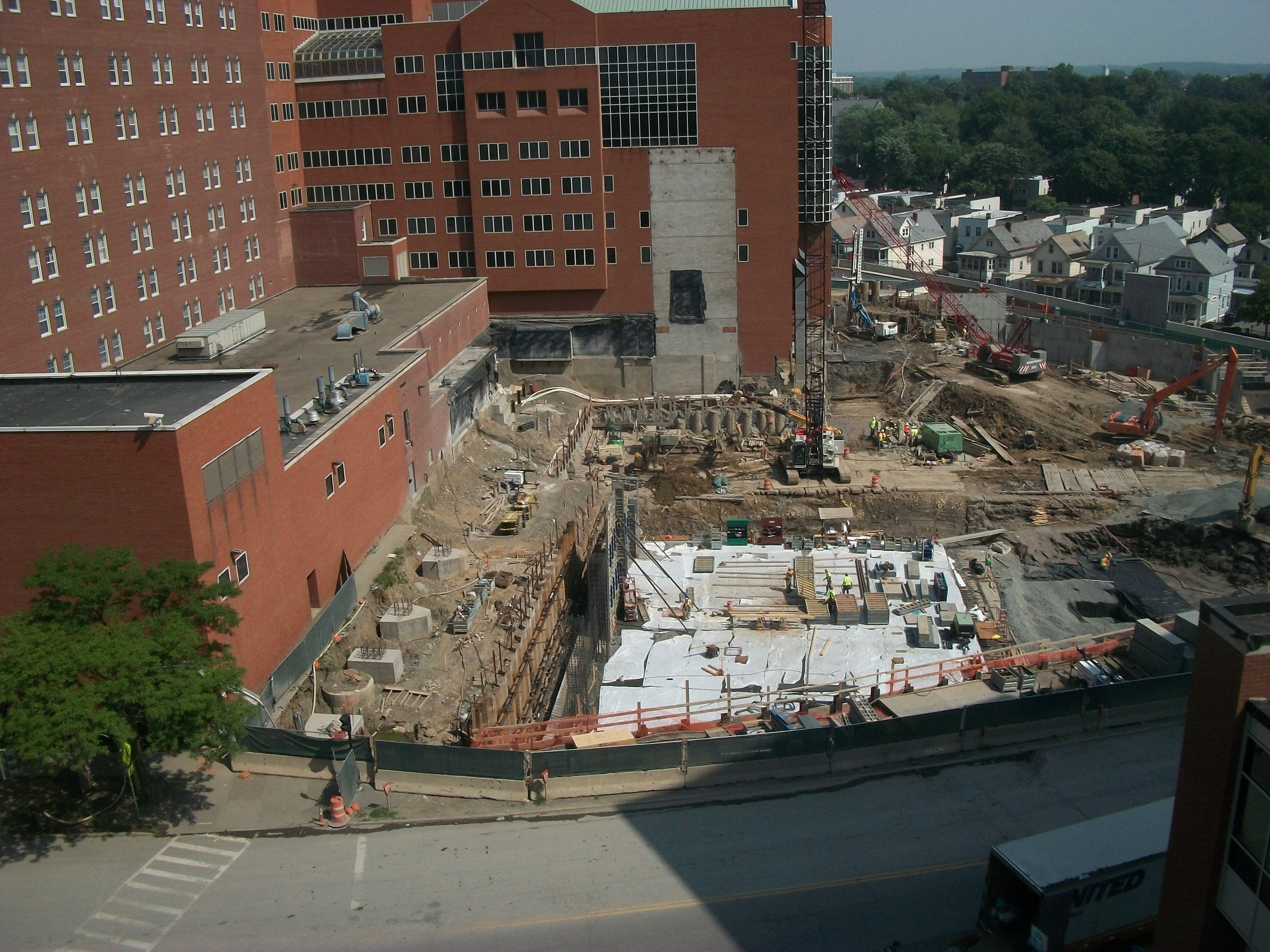 John P. Stopen Albany Medical Center Healthcare Project expansion construction