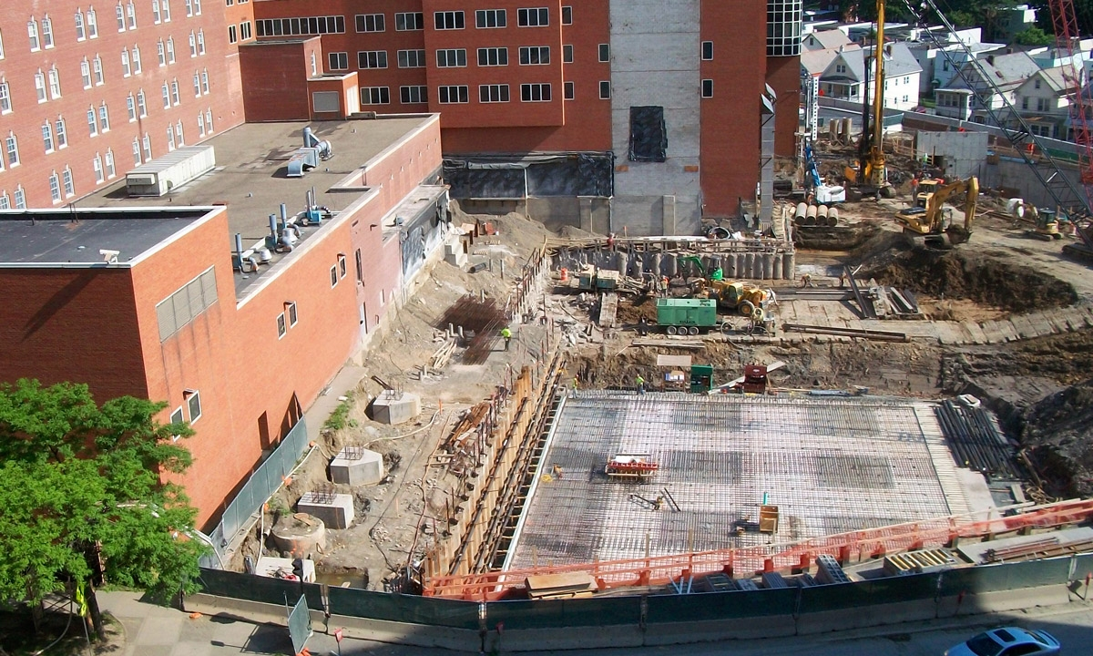 John P. Stopen Albany Medical Center Expansion construcion