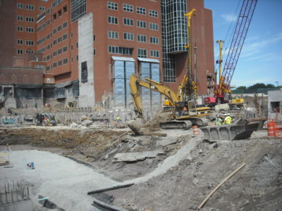 John P. Stopen Albany Medical Center Expansion Project construction