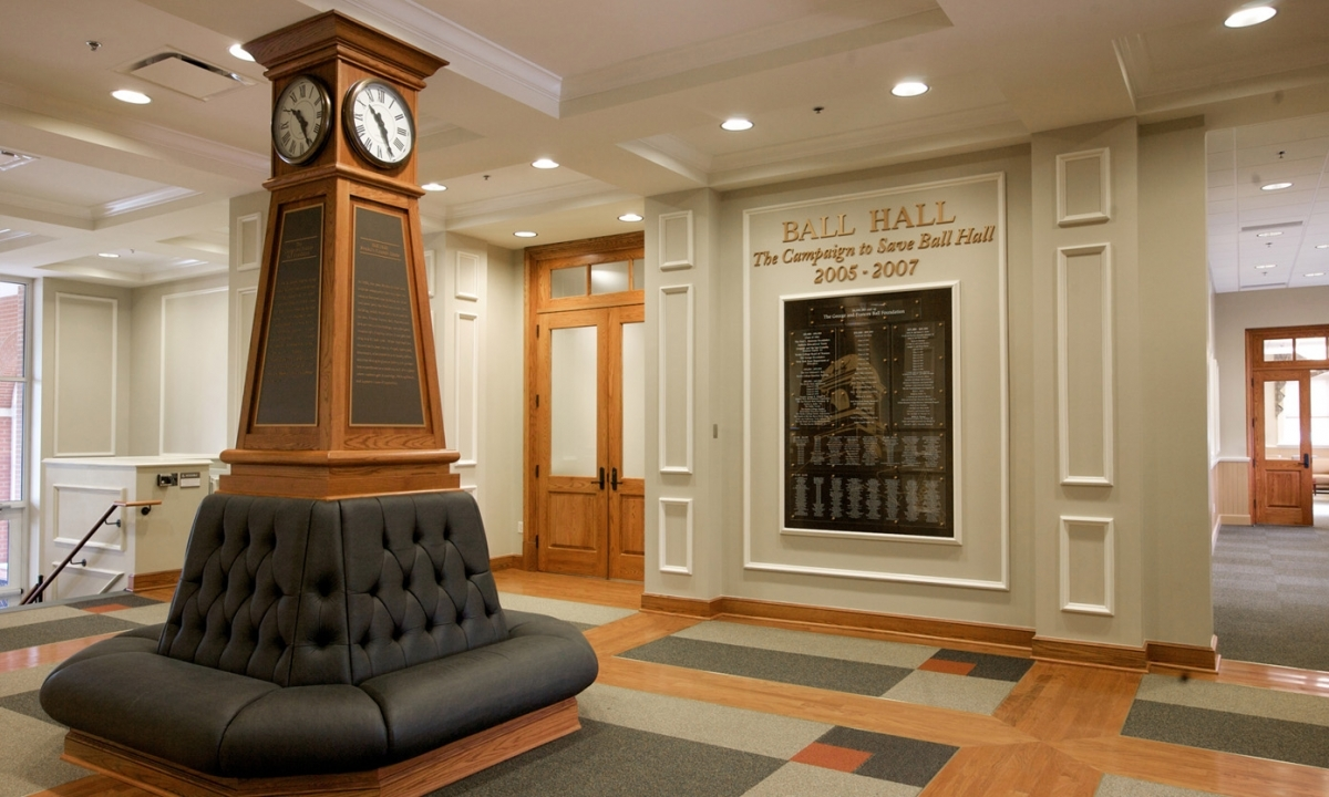 John P. Stopen Ball Hall Keuka College interior completed
