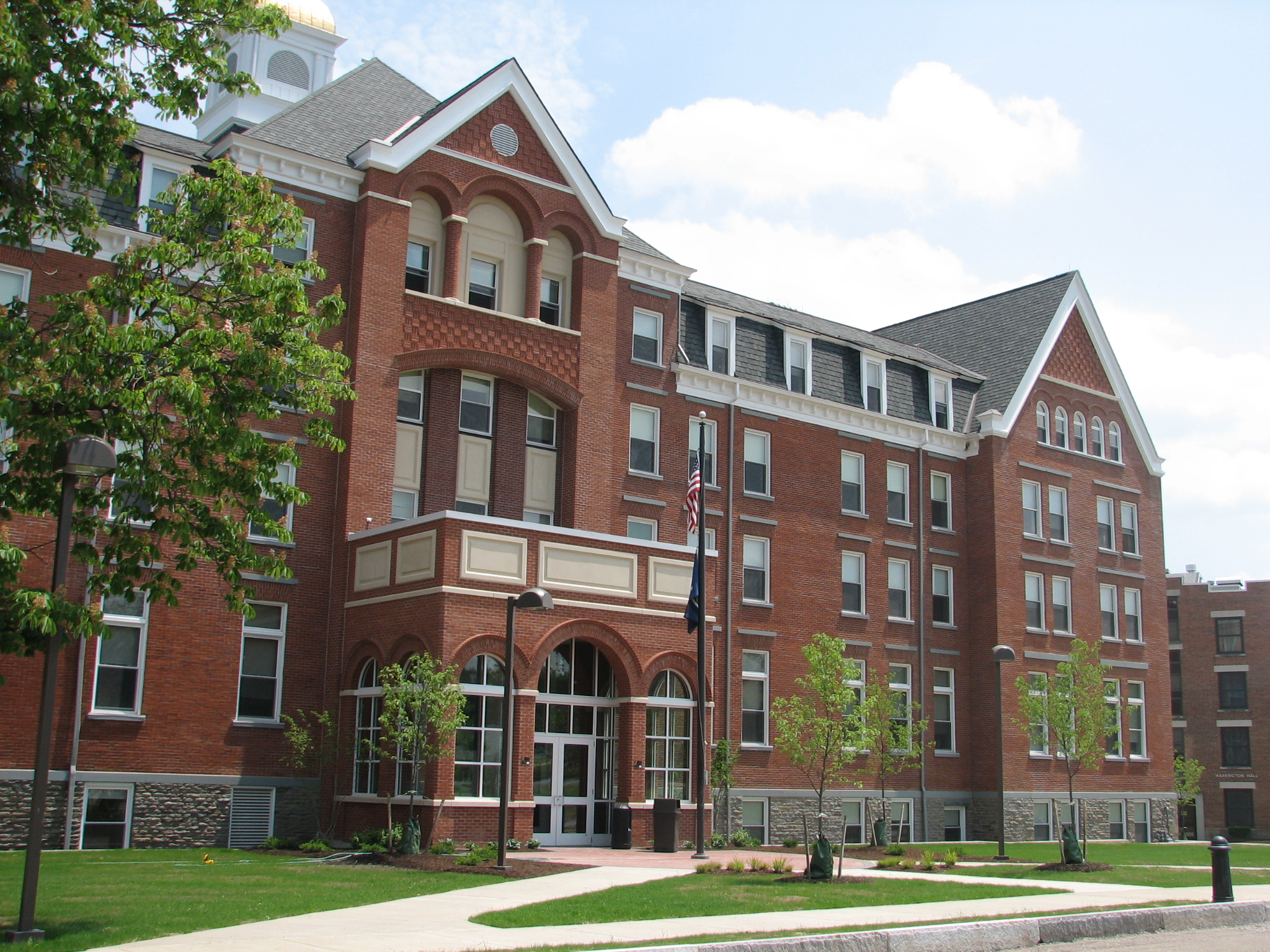 John P. Stopen Ball Hall Keuka College Project completed exterior