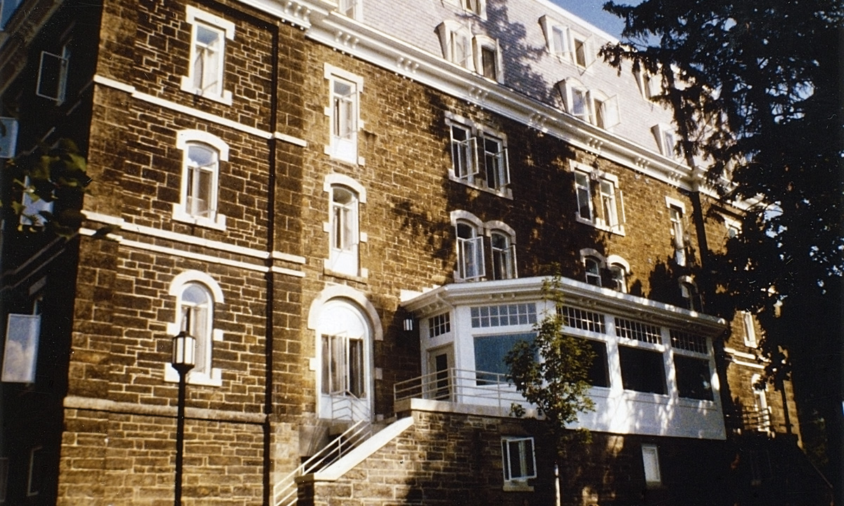 John P. Stopen Cascadilla Hall Cornell University Renovation Project exterior