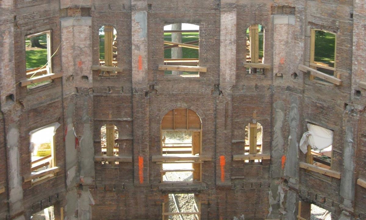 John P. Stopen Cowles Hall Elmira College Construction