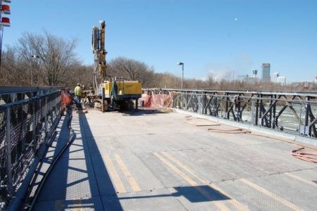 John P. Stopen Niagara Fall Bridge Repair construction