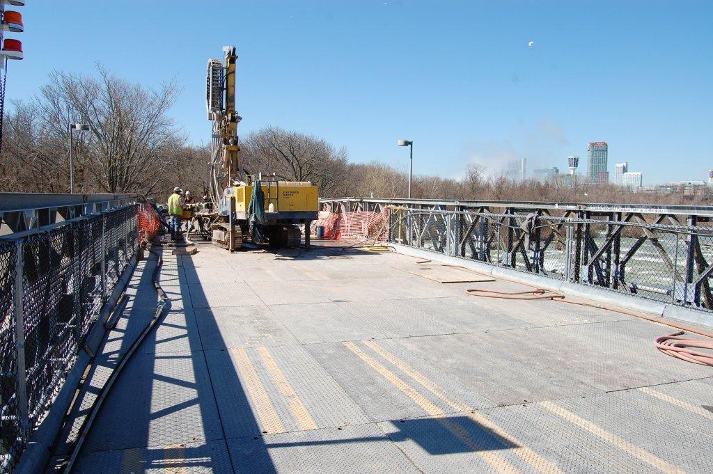 John P. Stopen Niagara Fall Bridge Repair construction