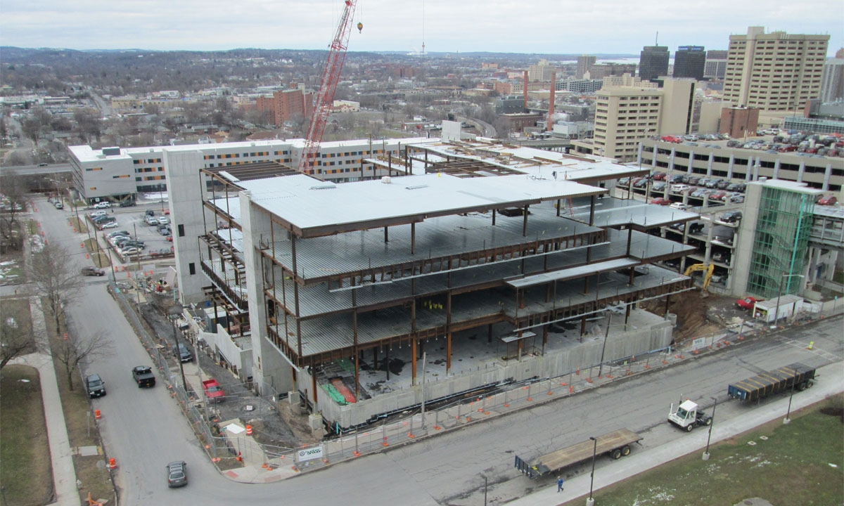 John P. Stopen Dineen Hall Syracuse University construction