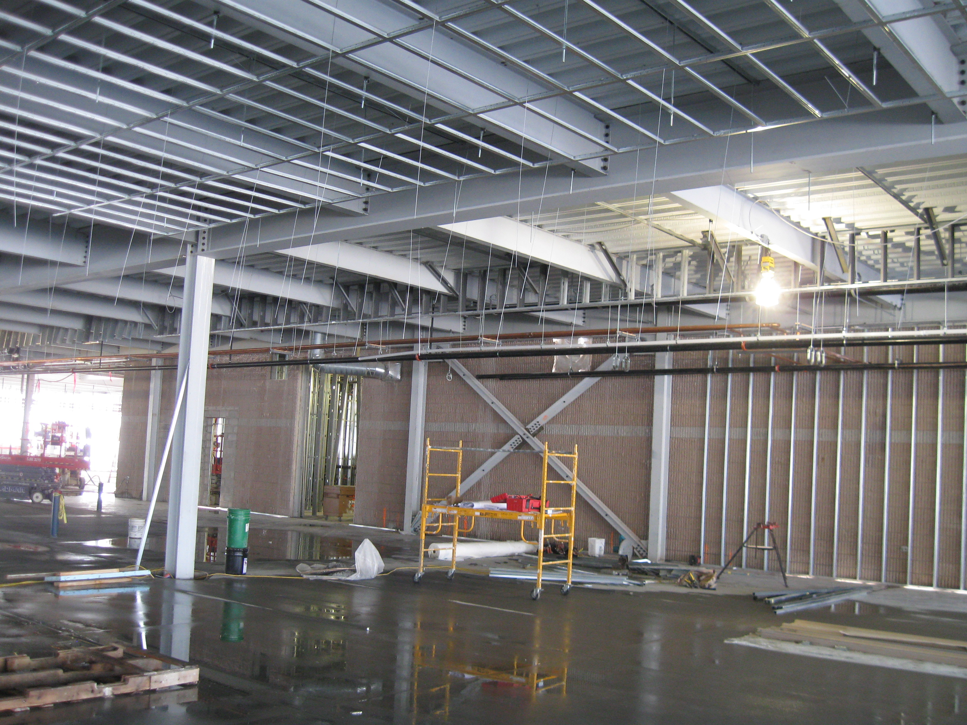 John P. Stopen Inficon Industrial Project interior construction