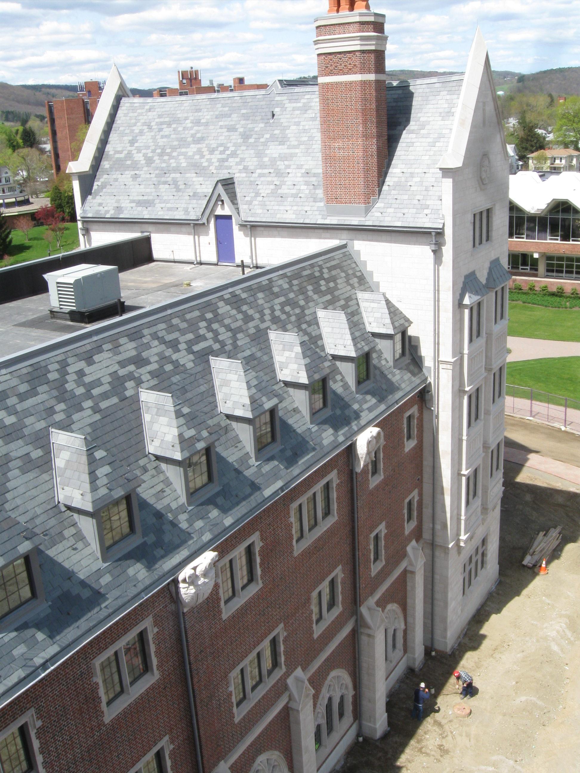 John P. Stopen Meier Hall Elmira College Project exterior complete