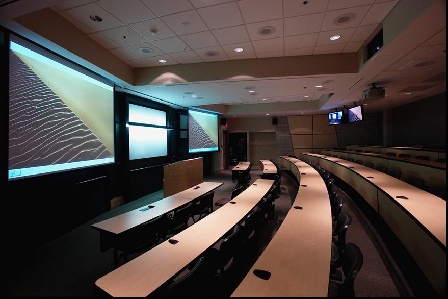 John P. Stopen Baker Hall SUNY ESF Project lecture room