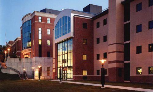 John P. Stopen SUNY ESF Baker Hall exterior completed