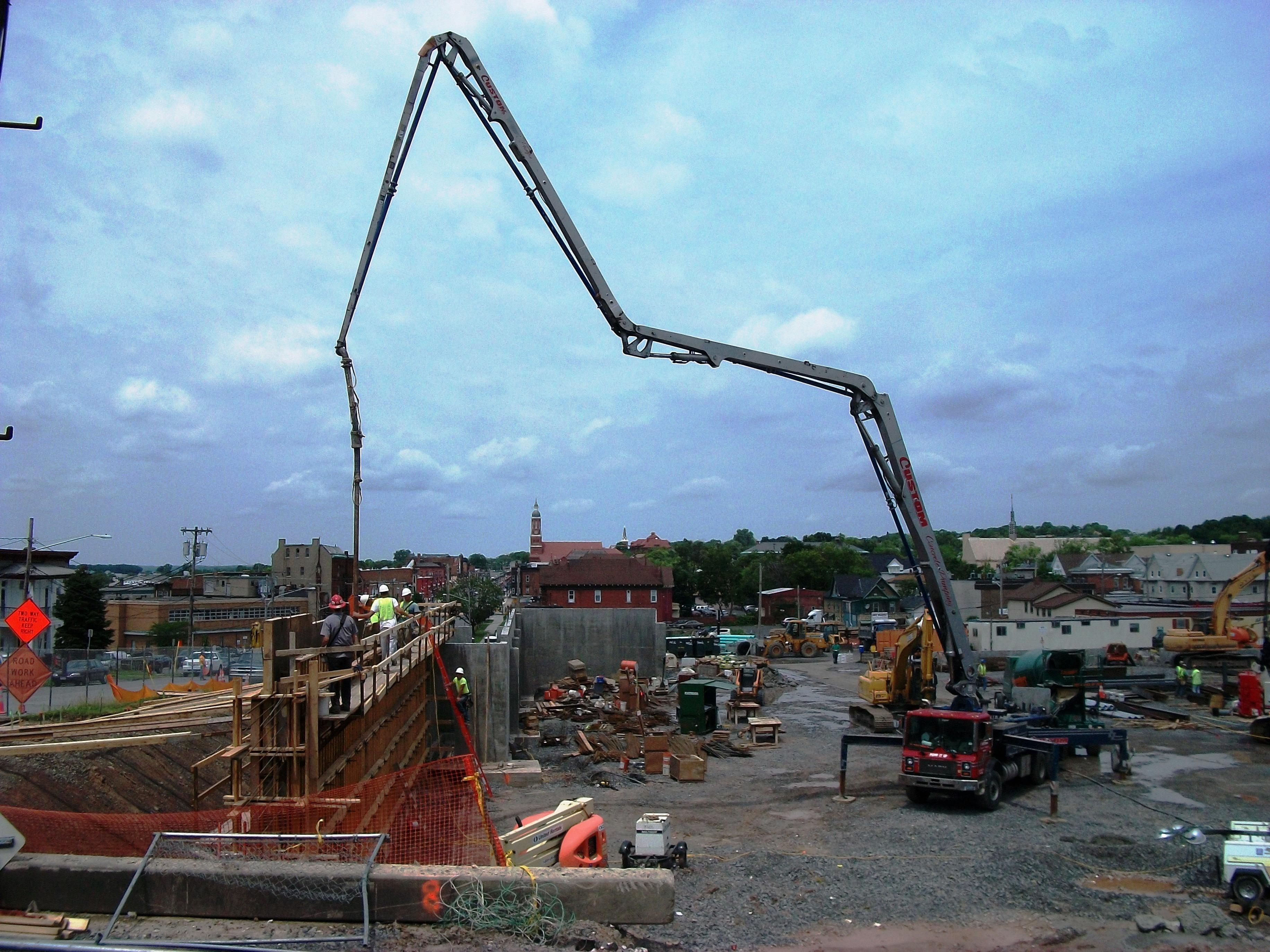 John P. Stopen St. Joseph's Expansion construction