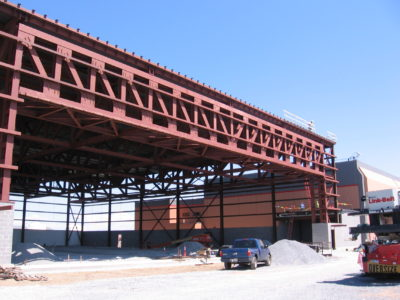 John P. Stopen Fort Drum Hangar Project construction