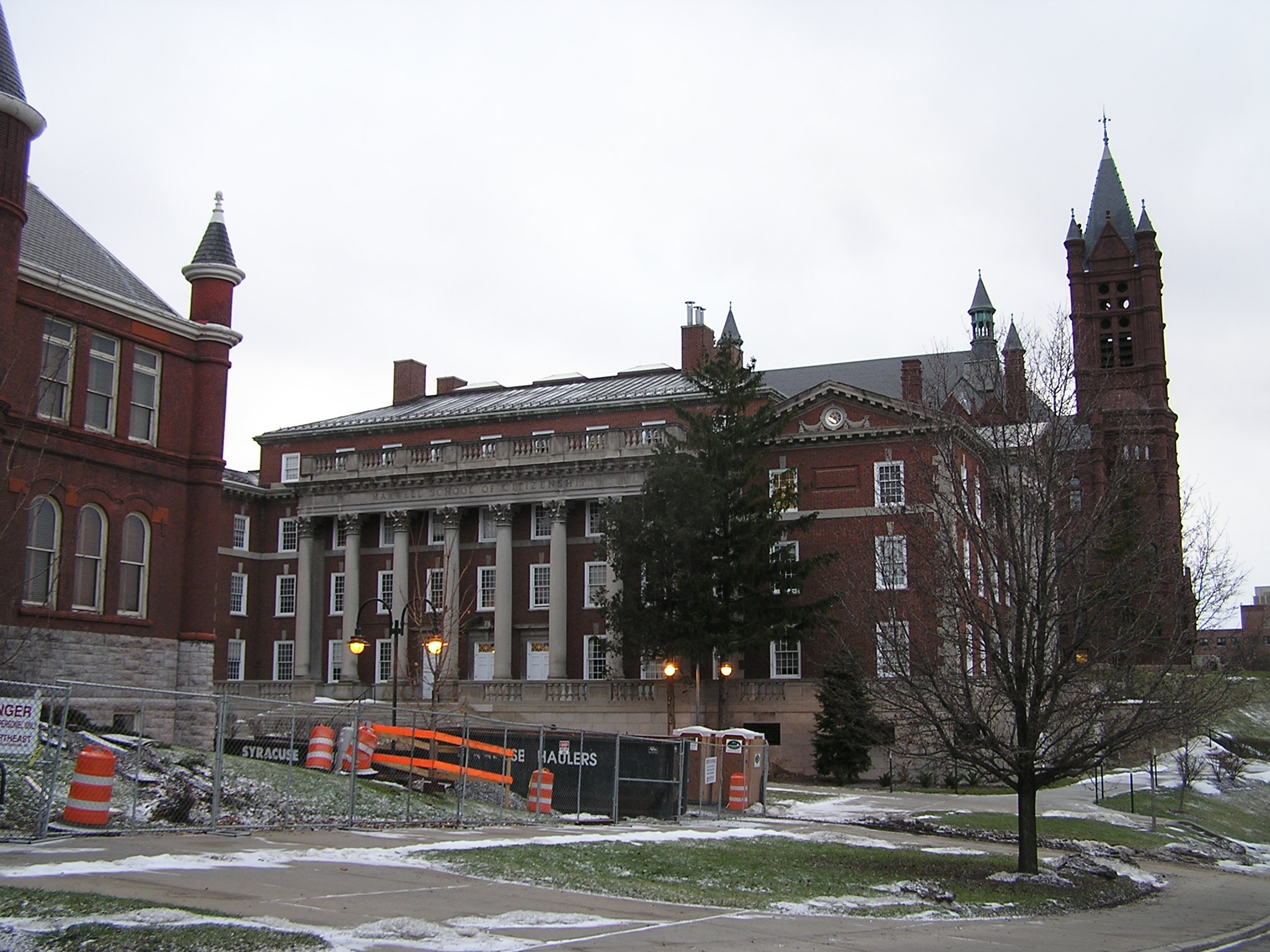 John P. Stopen Tolley Hall Syracuse University Project exterior