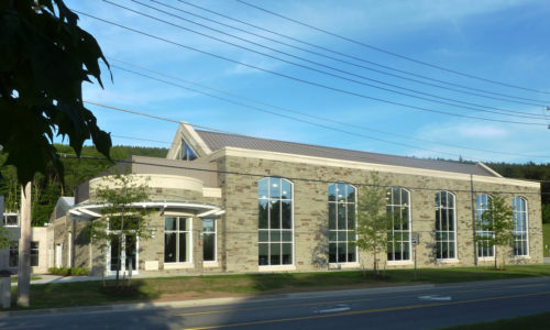John P. Stopen Trudy Fitness Center Colgate University completed exterior