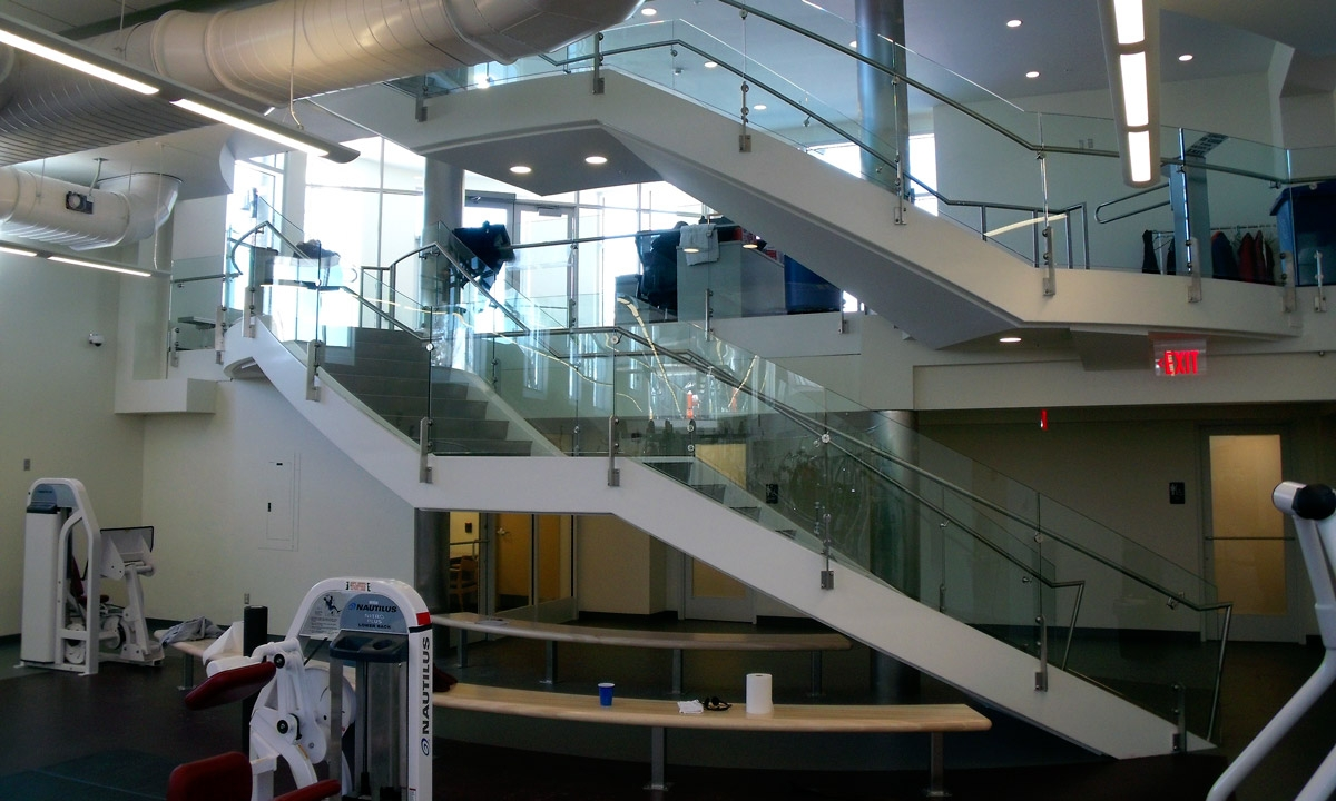 John P. Stopen Trudy Fitness Center Colgate University interior