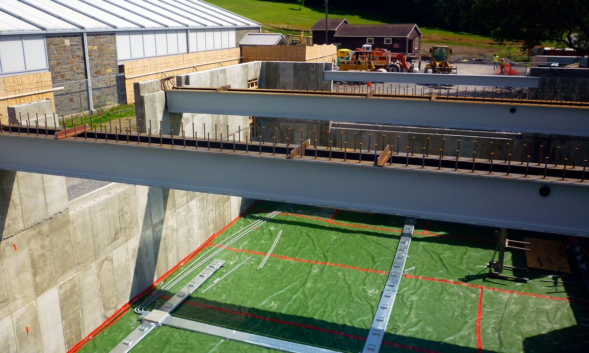 John P. Stopen Trudy Fitness Center Colgate University construction