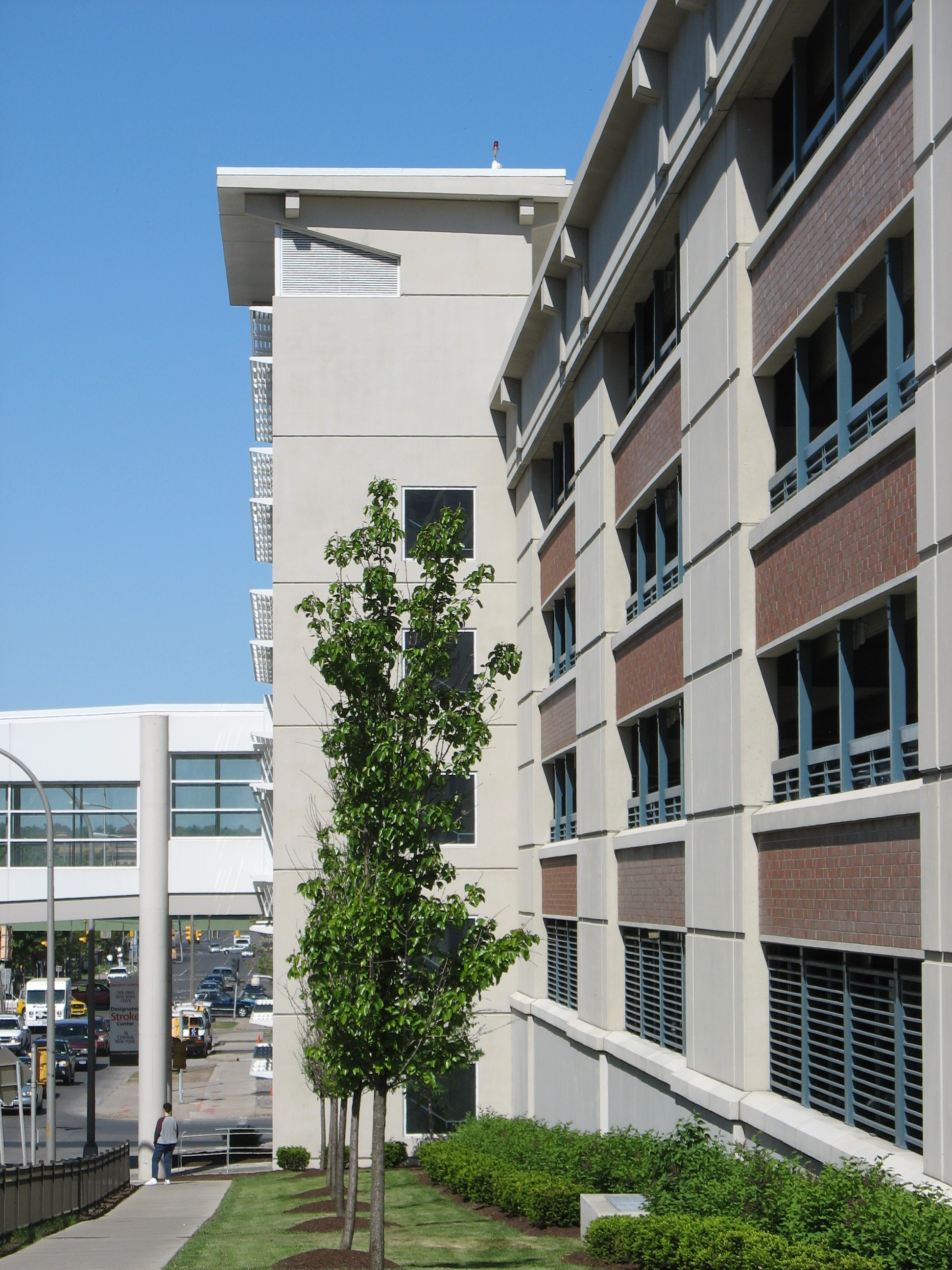 John P. Stopen SUNY Upstate Parking Garage exterior