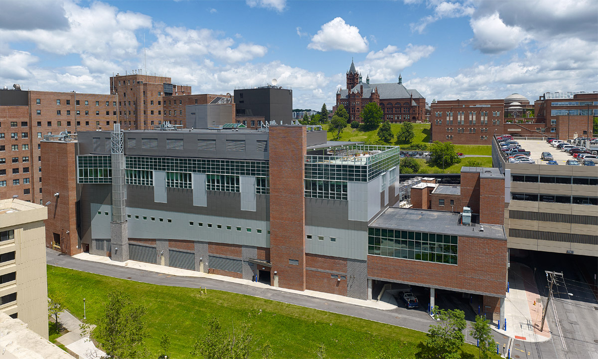 John P. Stopen VAMC SCI Addition Project exterior completed
