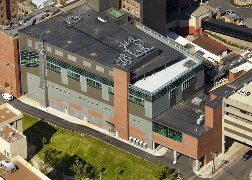 John P. Stopen VAMC SCI Addition Project completed drone view