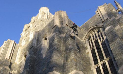 John P. Stopen Cadets Chapel USMA West Point exterior renovations