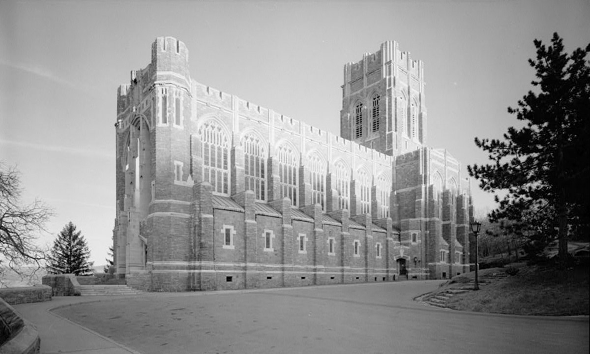 John P. Stopen Cadets Chapel USMA West Point exterior