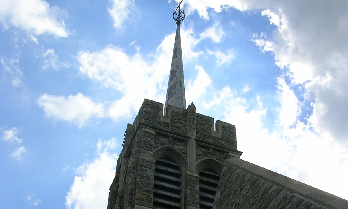 John P. Stopen Most Holy Trinity Chapel USMA West Point exterior completed