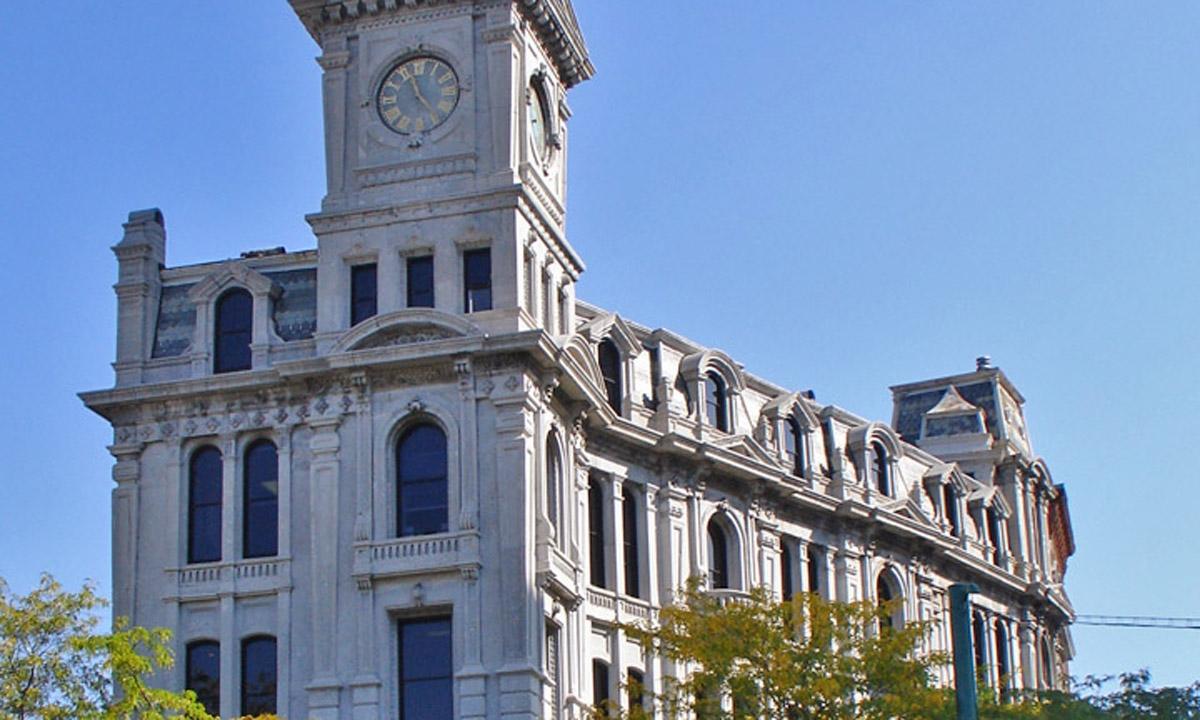 John P. Stopen Gridley Building exterior
